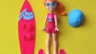 Polly Pocket: mini doll Plastikpuppe, Spielhaus, Spielzeug für Mädchen