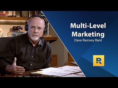 Dave Ramsey Rant – Multi Level Marketing