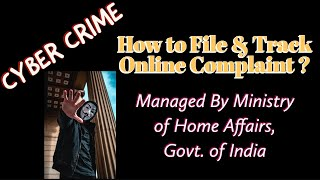 CYBER CRIME PORTAL - File Online Complaint Against Any CYBER CRIME: Advocate Subodh Gupta