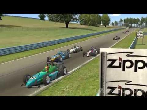 Circuito Barber : Carrera skip barber circuito watkins glen espectacular youtube