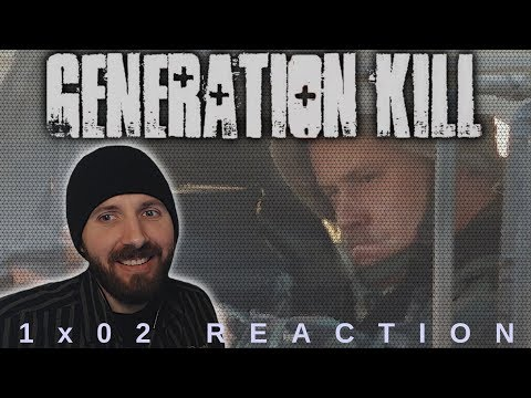REACTION ► Generation Kill ► 1x02 - The Cradle Of Civilization
