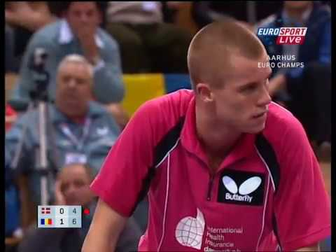 Table Tennis - Attack (Michael MAZE - DEN) vs Attack (Adrian CRISAN - ROU) - Clash of attack IV