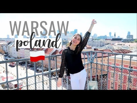 First Time In Warsaw & Europe! My Impressions⎮Poland Trip 2018
