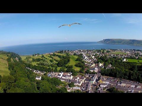'Cushendall' by Shaun-Paul Linton in 'The Glens of Antrim' N Ireland