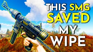 How This CUSTOM SMG PLAY SAVED MY WIPE - A Rust Survival Story