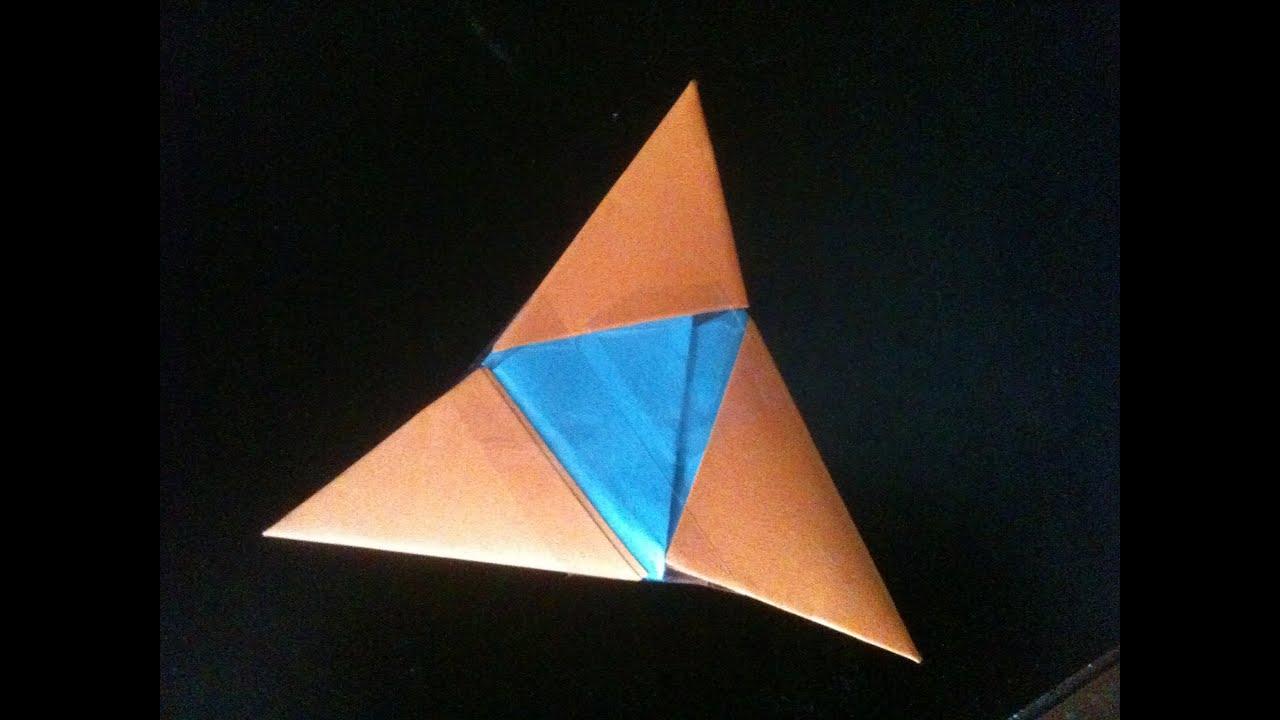 Origami 3 Pointed Ninja Star
