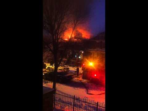 House fire in the South Austin neighborhood