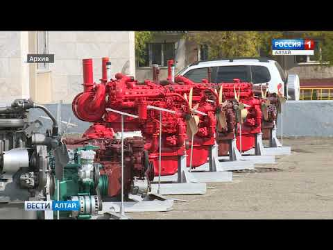 Работа цехов моторного завода в Барнауле была остановлена