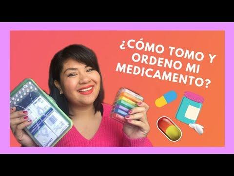 ¿Cómo tomar y ordenar tu medicamento? *Mis tips para ordenarlo