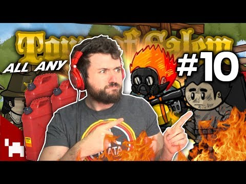 A CRAZY ARSONIST GAME | Town of Salem All Any #10