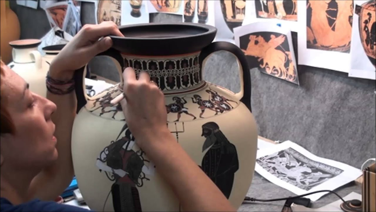 Amassis painter black figure pottery youtube floridaeventfo Image collections