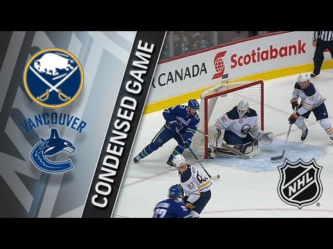 01/25/18 Condensed Game: Sabres @ Canucks