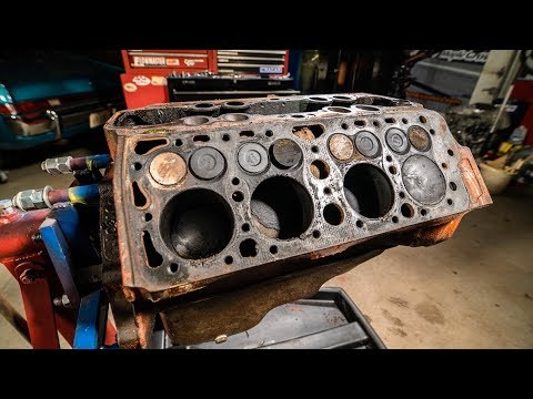 Ford Flathead V8 Engine Time Lapse Rebuild Commentary | Redl