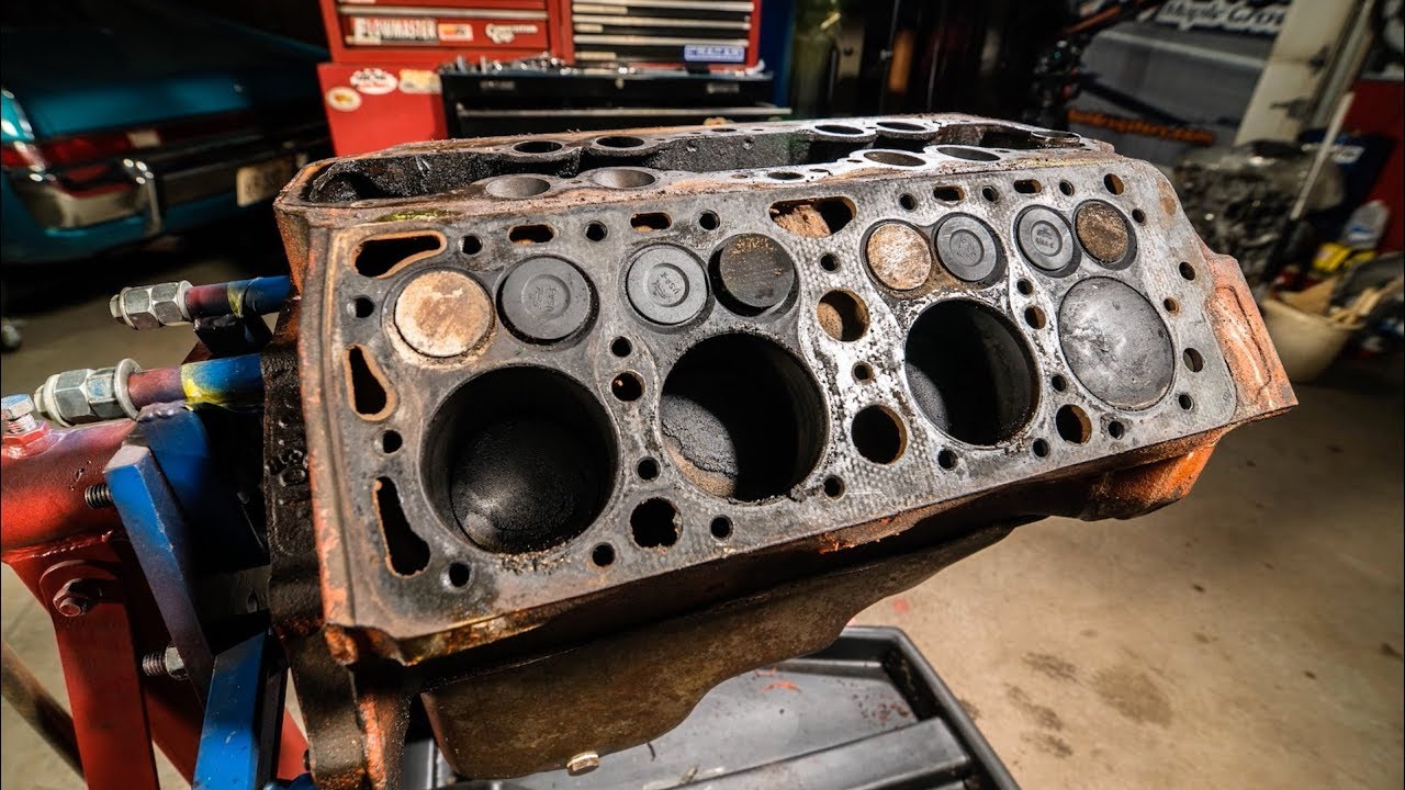 How we rebuilt our ford flathead v 8 engine redline rebuilds explained s1e3