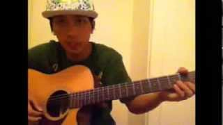 How To Play Guitar Snoopy Lion Wizz khalifa Cover by Alien Jupiter Young Wild And Free