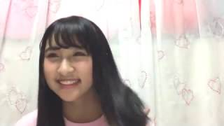 2017年01月06日 SHOWROOM NMB48 明石奈津子 『二人セゾン(欅坂46)』