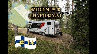 DAS ist Finnland: Waldparkplatz-Wandern-Natur-Einsamkeit *Finnland Wohnmobil Rundreise #14