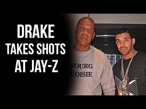 "Drake Takes Shots At Jay-Z... ""Don't Put Money To Ya Ear? I Didn't Hear That"""