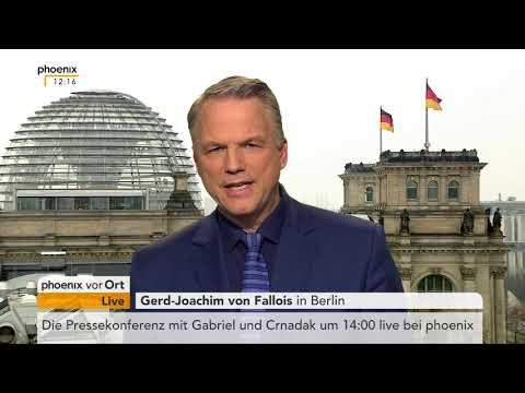 Gerd-Joachim von Fallois zum Ausstieg von Sigmar Gabriel aus dem Außenamt vom 08.03.2018