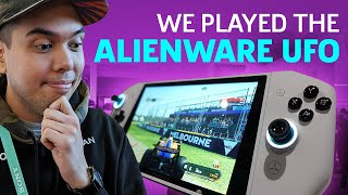 We Played The Alienware UFO, A Switch-Like PC Gaming Device