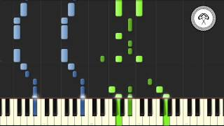 Foster the People - Pumped up Kicks Piano Tutorial & Midi Download