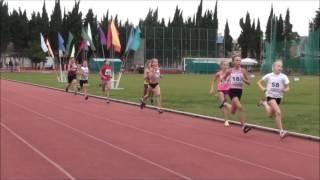 Шиповка юных 2005 2006 г р  Забеги  дев  на 500 метров 29 09 2016г