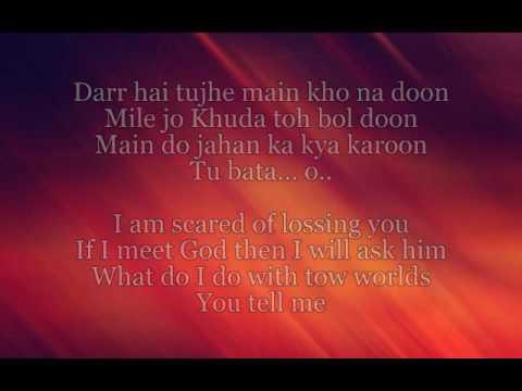 Salamat -- Sarbjit (Full Lyrics & English Translation)