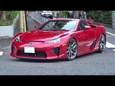 【神音】レクサスLFA加速サウンド/LFA exhaust sound in Tokyo.