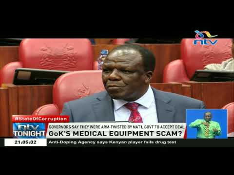 COG asks senate to investigate medical equipment leasing project