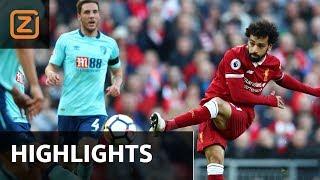 Samenvatting   Liverpool - Bournemouth   14/04/2018