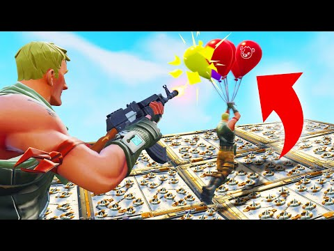 FUNNIEST Balloon Parkour FAILS In FORTNITE!