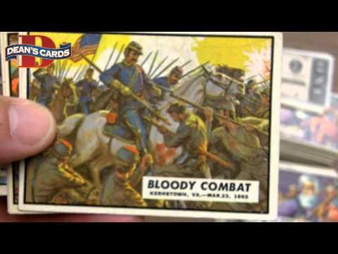Deans Cards - 1962 Topps Civil War News