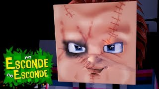 Minecraft: CHUCKY O BRINQUEDO ASSASSINO - O FILME! (Esconde-Esconde)