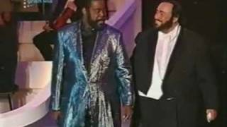 Pavarotti & Barry White   My first, my last, my everything