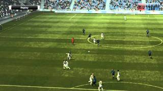 PES 2012 Inter Milan VS Juventus 1ST Half HD