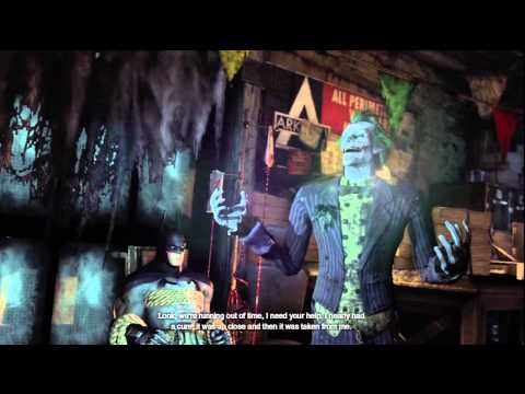 Batman: Arkham City - Batman meets Joker for the first time in game