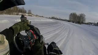 Зимний картинг Йошкар-Ола