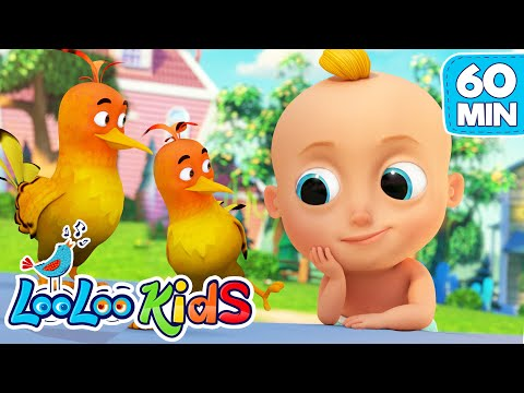 Cantec nou: Two Little Dickie Birds - The BEST SONGS for Kids | LooLoo Kids