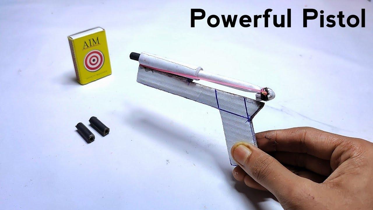 DIY Simple powerful toy gun |