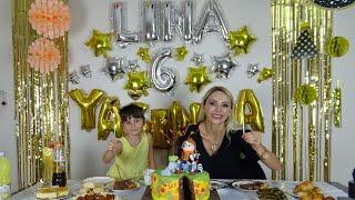 Linaya Sürpriz Doğum Günü Partisi Çok Sevindi