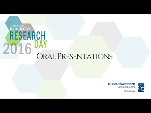 UT Southwestern's Radiology Research Day Oral Presentations