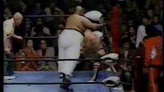 全日本プロレス 公式戦「タイガー・マスク ジミー・スヌーカVSディック・スレーター トミー・リッチ」