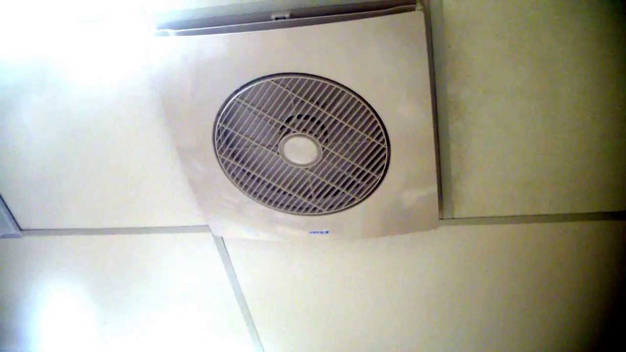 2 x 2 ceiling tile fan with remote