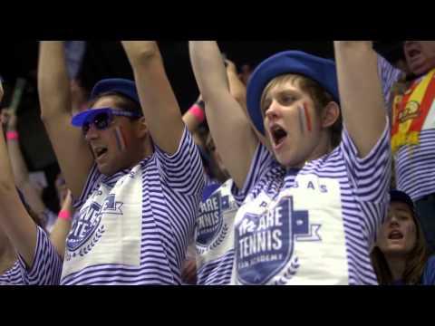 """La """"We Are Tennis Fan Academy"""" à Marseille pour la Fed Cup par BNP Paribas !"""