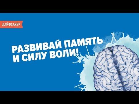 Упражнения для мозга, развивающие память и силу воли