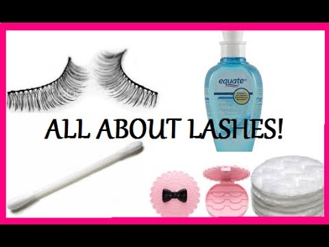 How To (easy) Clean, Restore & Reuse False Eyelashes! - YouTube