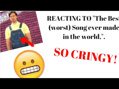 reacting worst song world shoutouts youtube