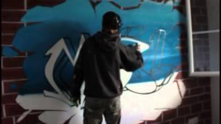Déco graffiti pour Maël par Sprayvisions