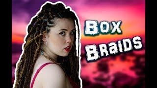 Como hacer las Box Braids | Chiquitina
