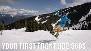 Your First Frontside 360s On A Snowboard